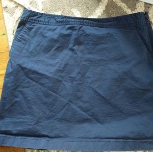 Vineyard Vines blue skirt